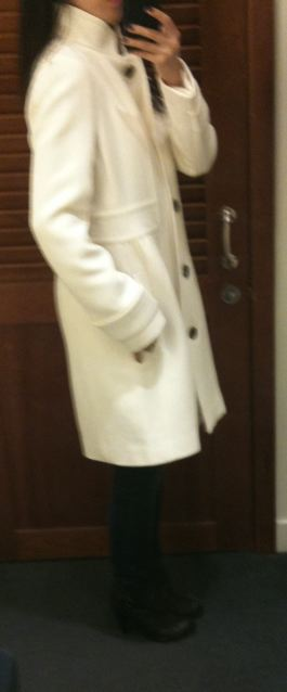 j crew double cloth coletta coat in regular 0 comes in 0p which is much smaller