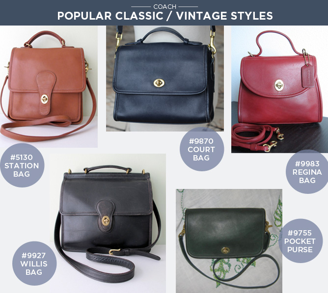 do vintage coach bags have serial numbers