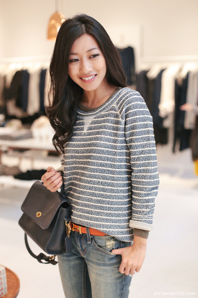 lou & grey striped top