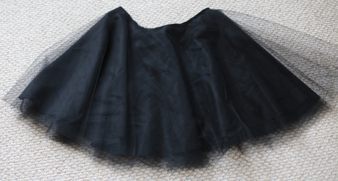 tulle skirt DIY steps1