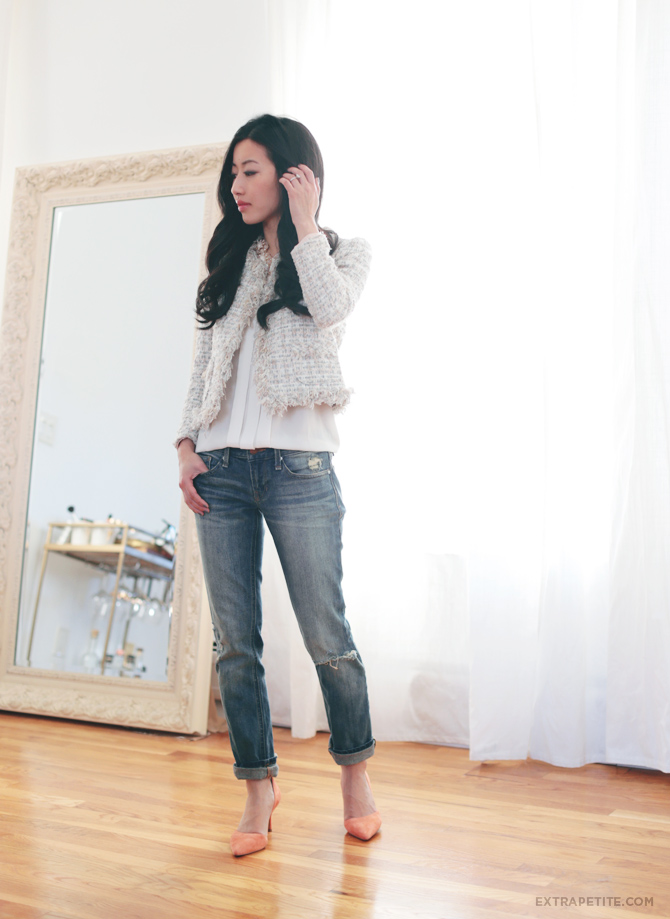 coral pumps tweed jacket2