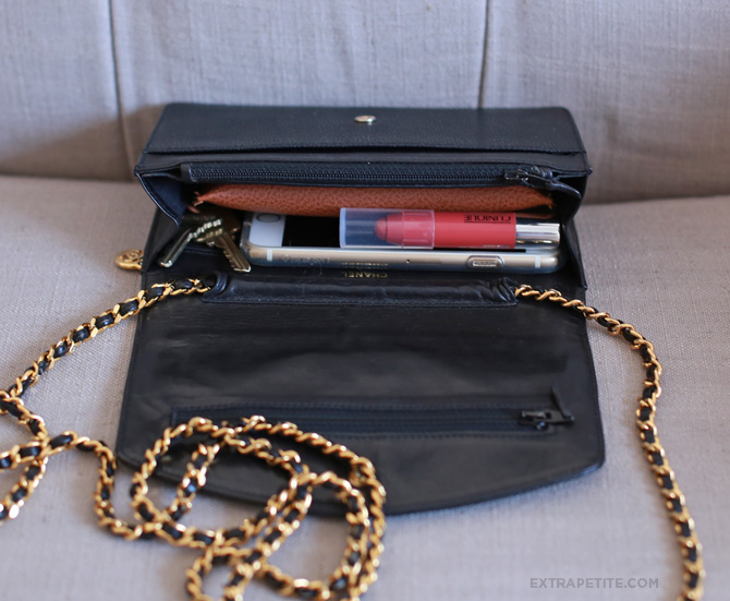 6468bb8d32d7 Bag review  YSL Saint Laurent Wallet on Chain Purse