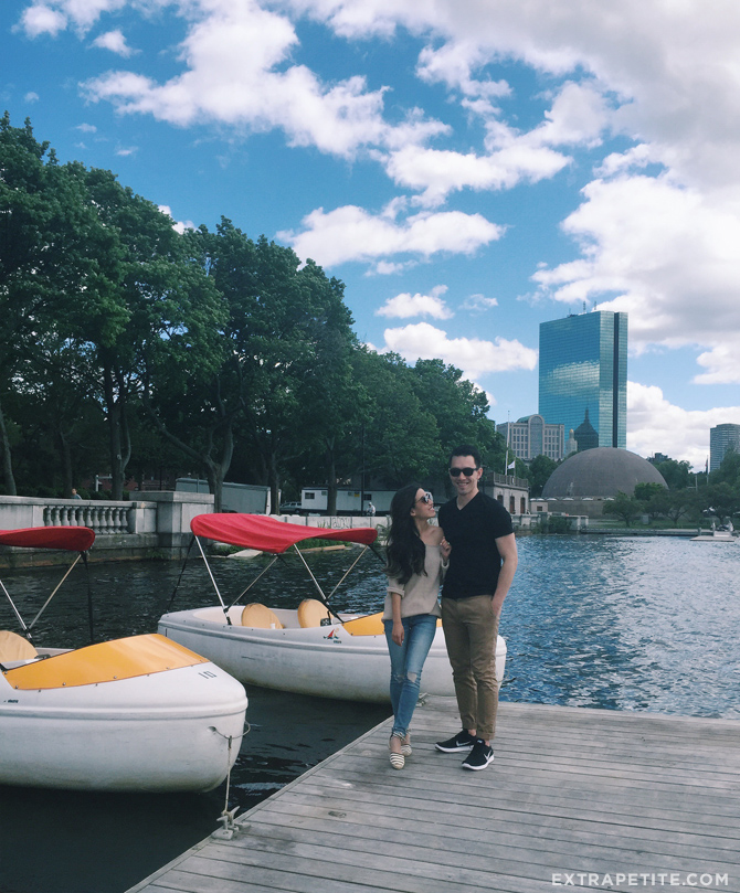 boston visitor activities_pedal boat rental charles river