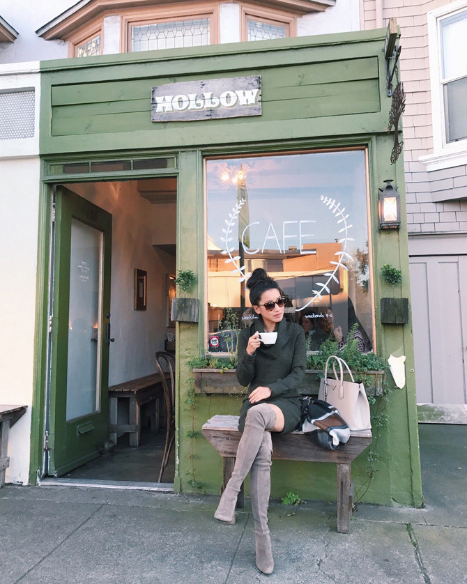 hollow cafe coffee shop sunset san francisco