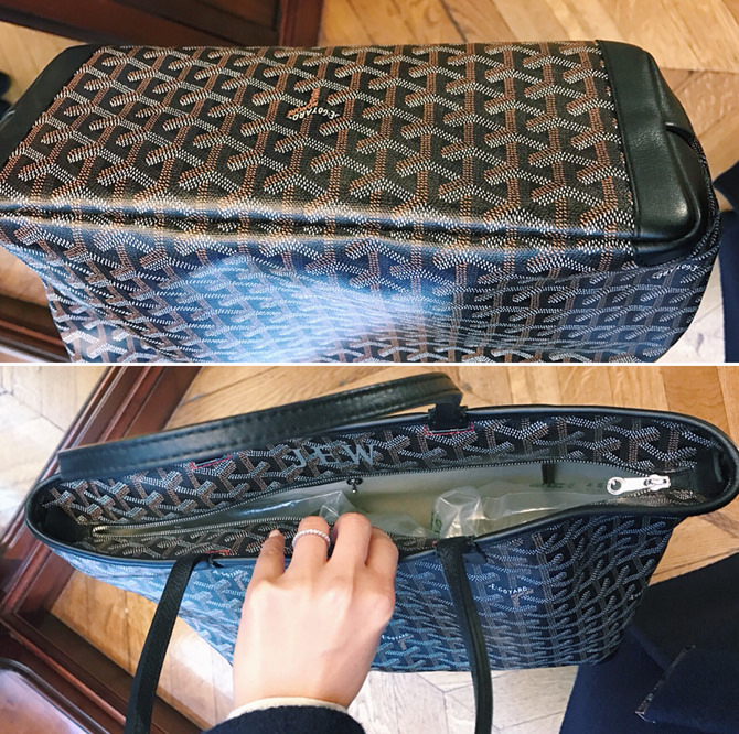 goyard artois tote bag review st louis with zipper paris france shopping