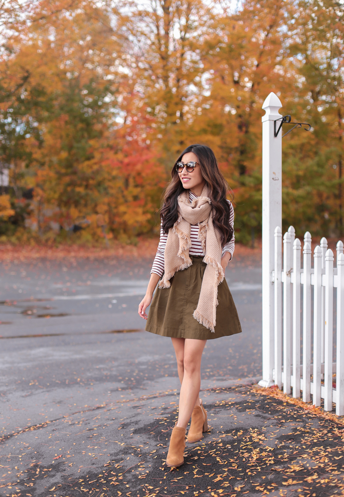 cute ankle boots outfits and new england foliage