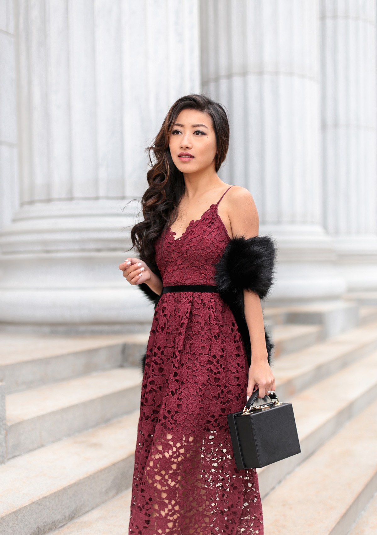 affordable lace dress christmas holiday party outfit
