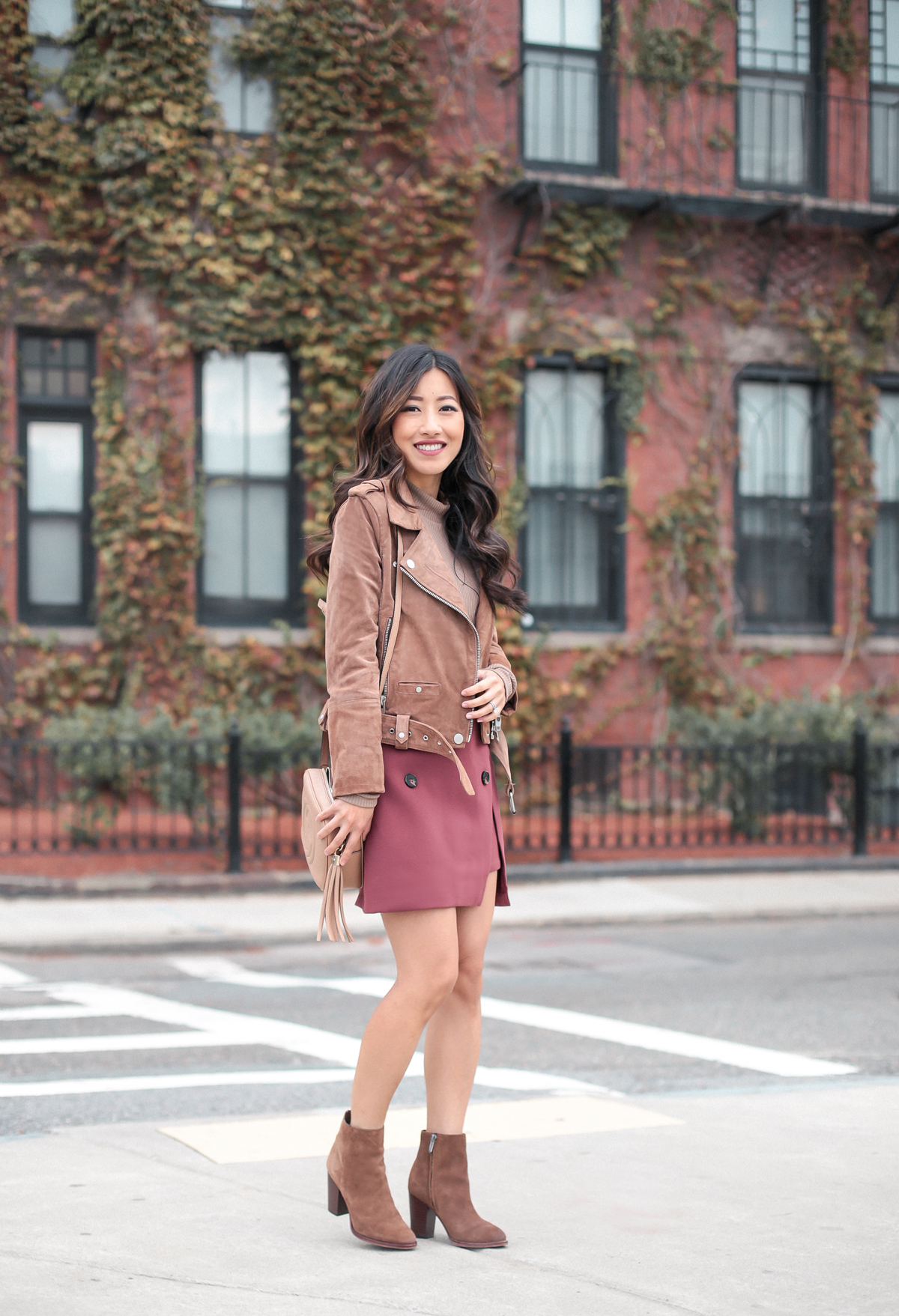 brown ankle boots petite fall style outfits