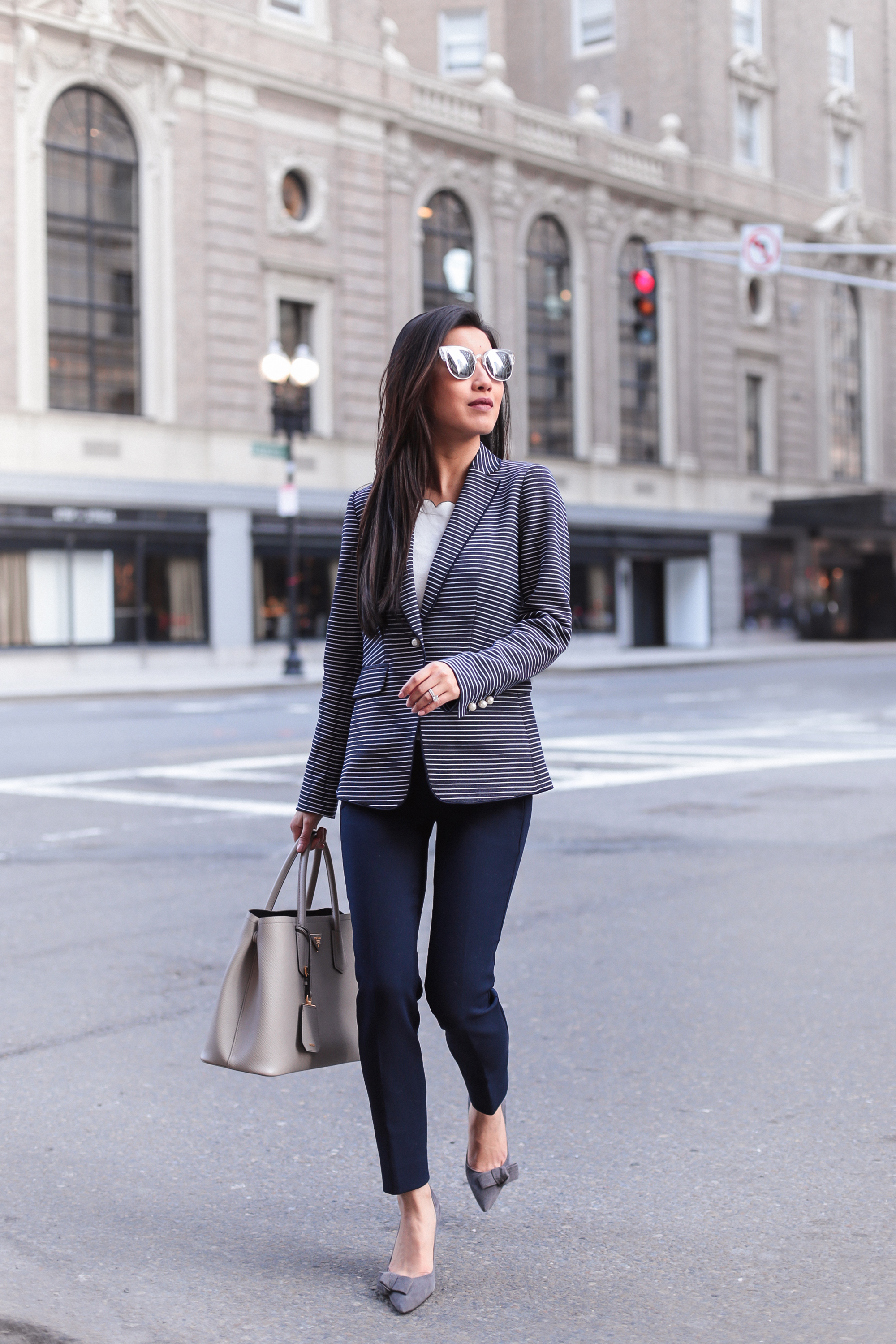 business casual work wear petite fashion blog
