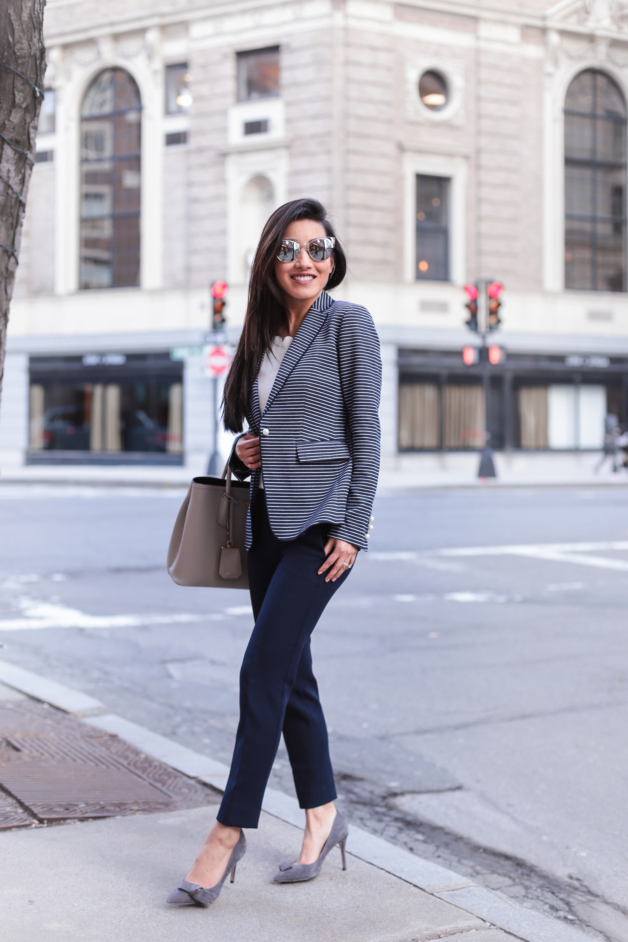 what to wear to work_spring blazer