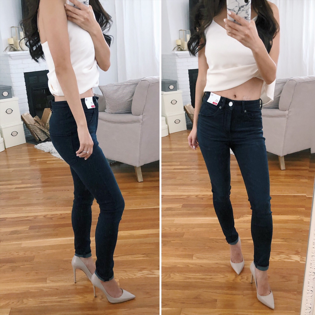 short inseam jeans for petite women fashion blog
