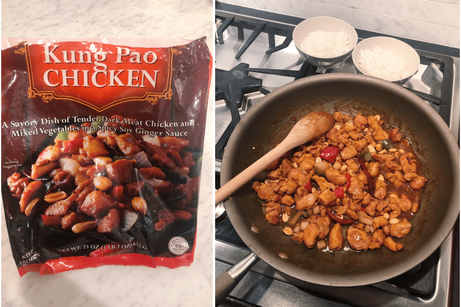 交易员乔's kung pao chicken review