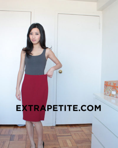Quest for a Classic Red Pencil Skirt