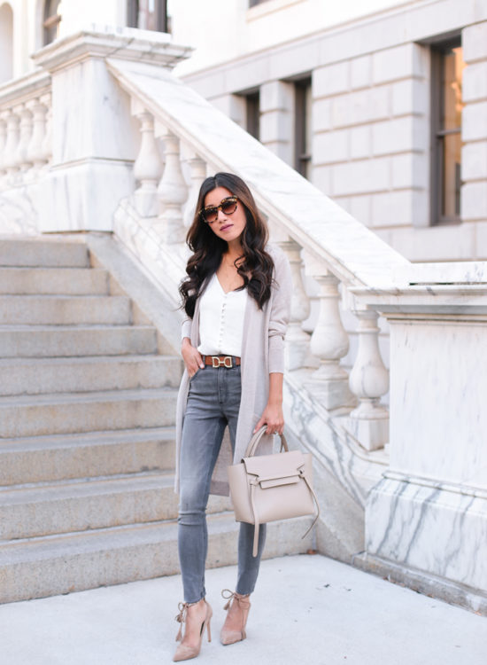 petite jeans and cardigans how to layer outfits express nordstrom