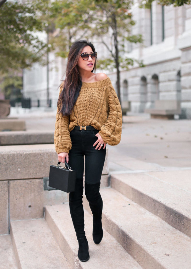 cute fall outfits with boots petite fashion blog - Extra ...