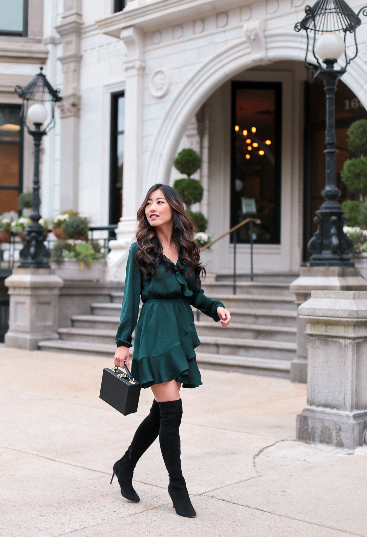 Fall Date Night Holiday Party Dress