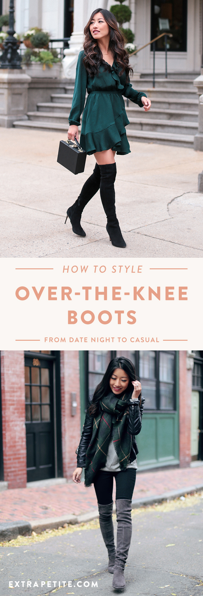 5be589864e6 How to Style Over-The-Knee Boots    From Date Night To Casual