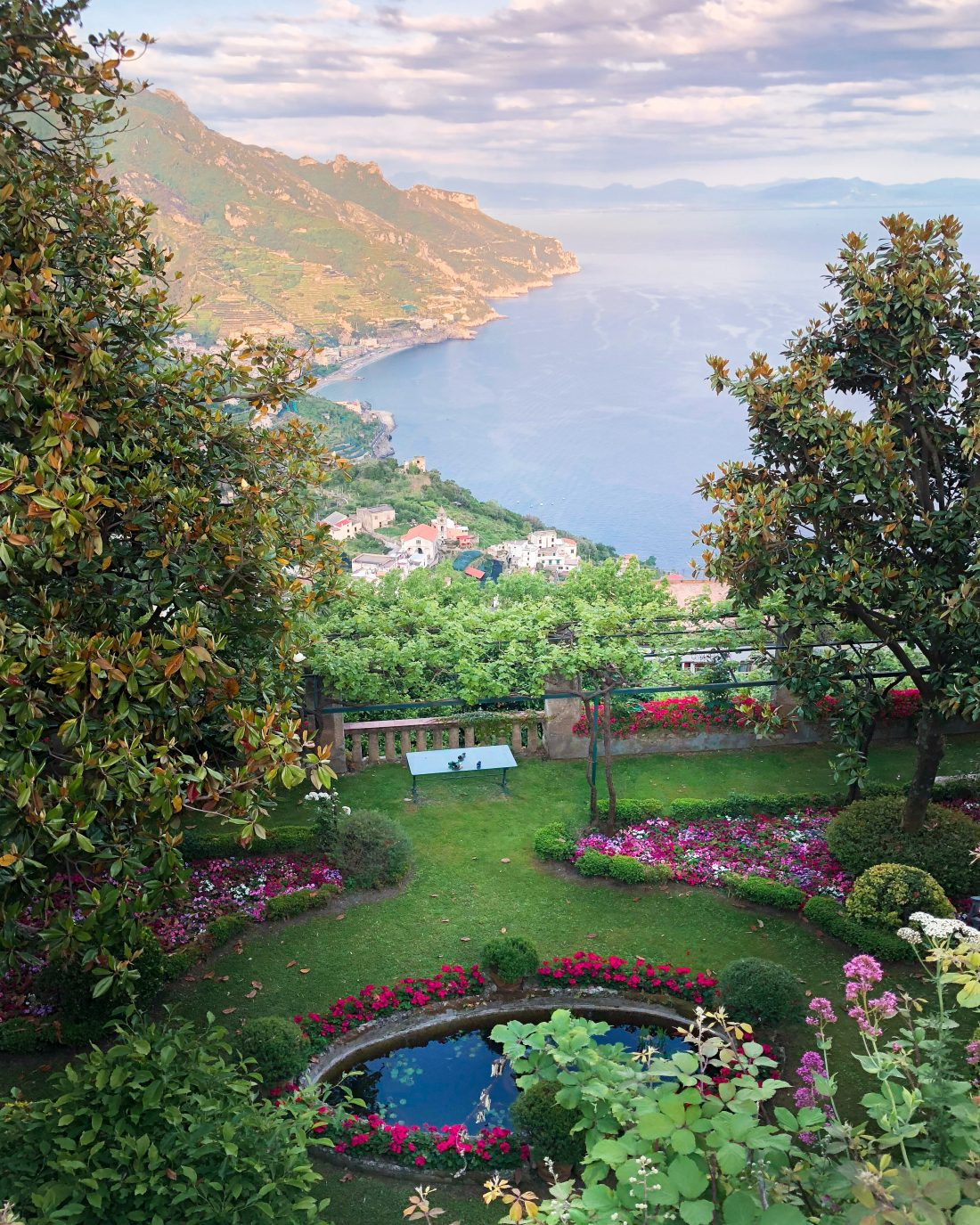 ravello italy gardens travel guide
