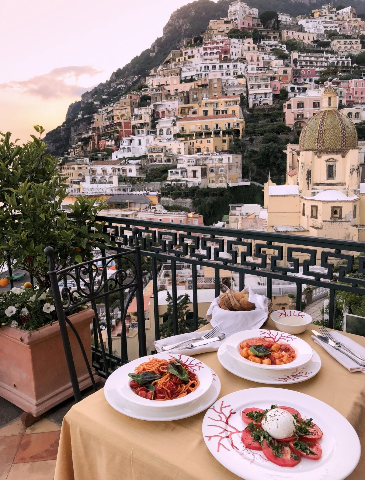best amalfi coast hotels with view positano buca di bacco
