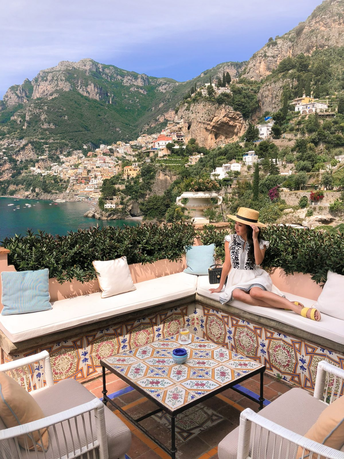 villa tre ville restaurant views positano travel guide