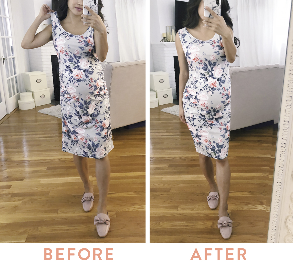 dress DIY alterations tutorial for petite women