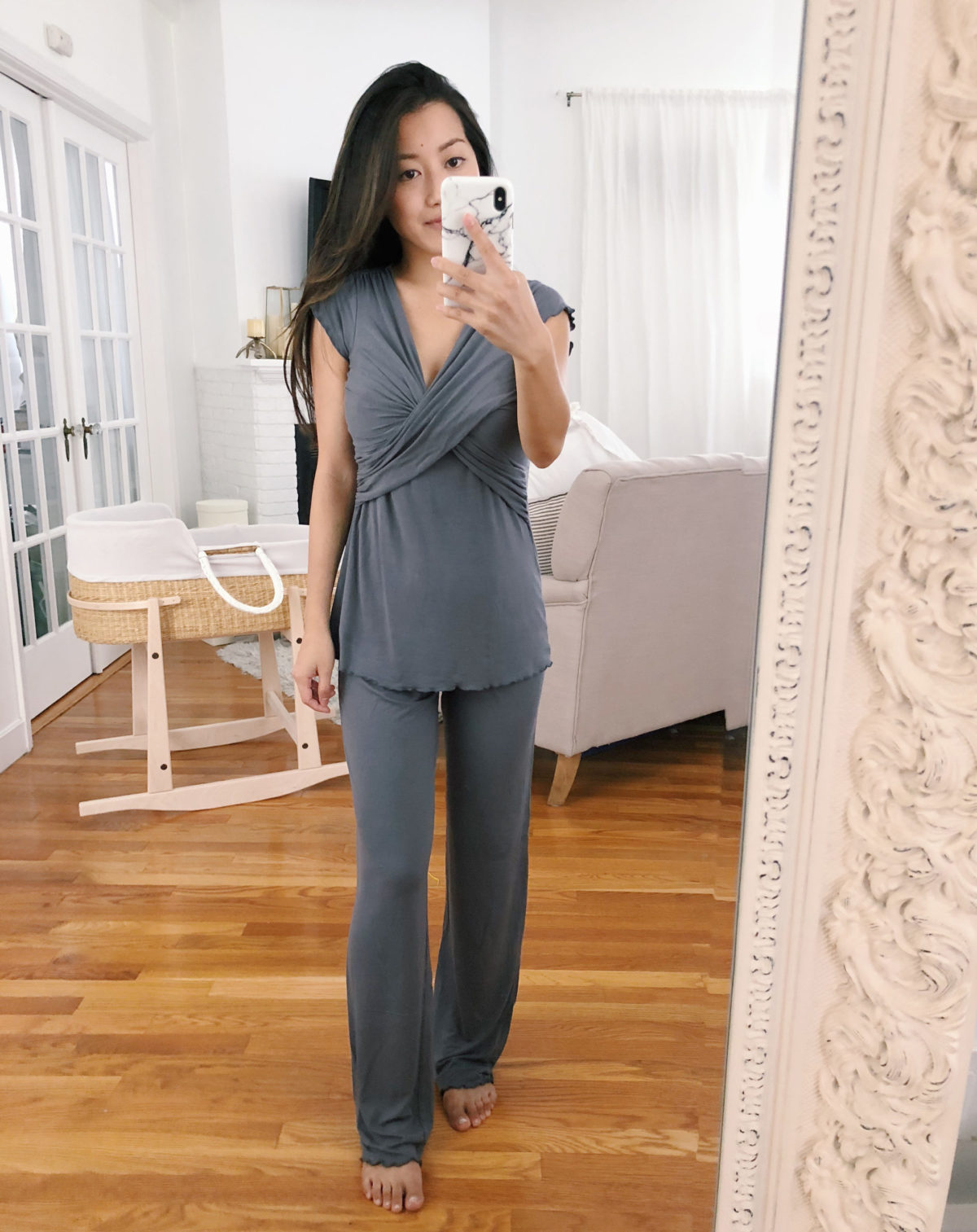 kindred bravely nursing postpartum pajamas lounge wear