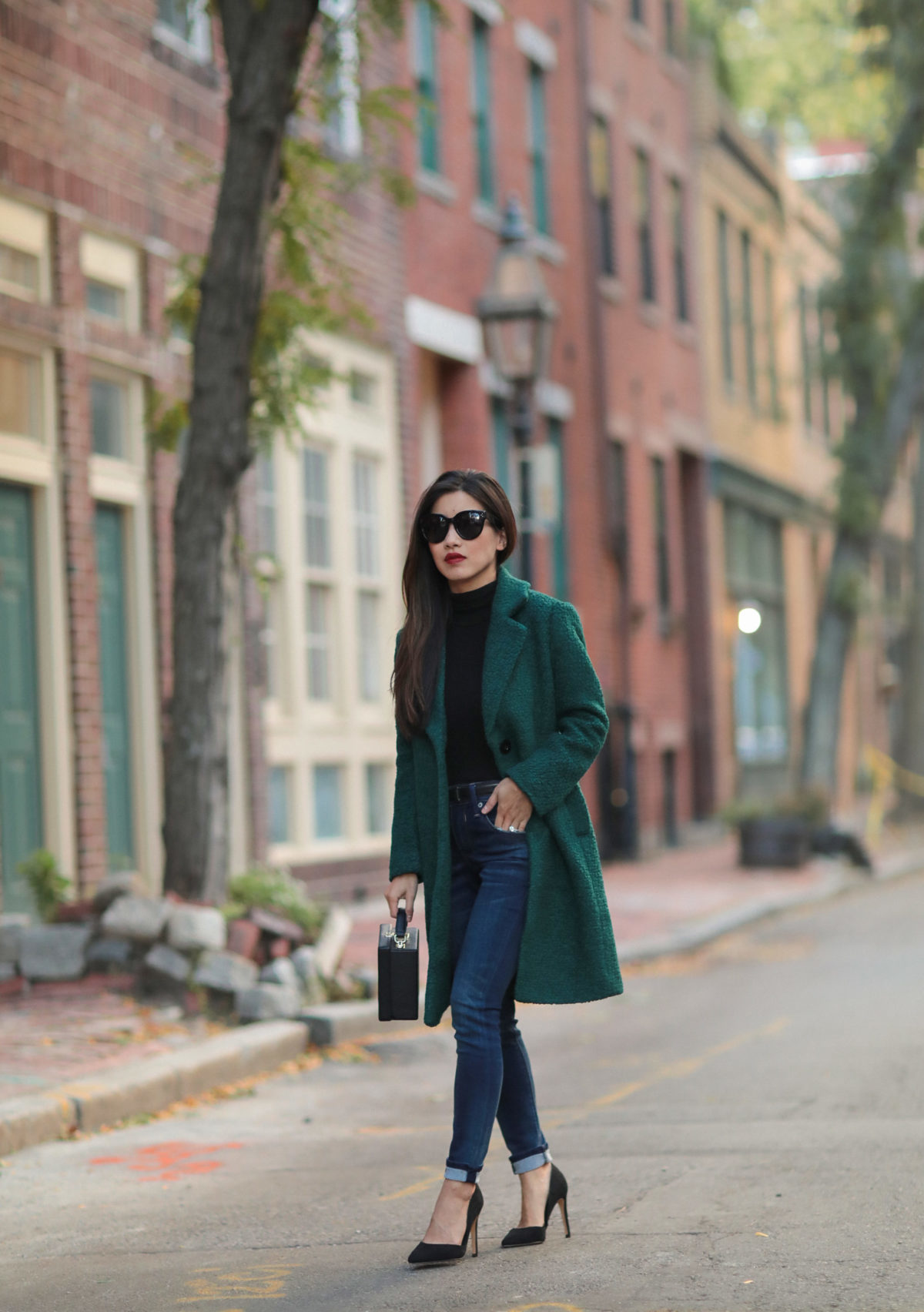 petite outerwear boston fashion blogger