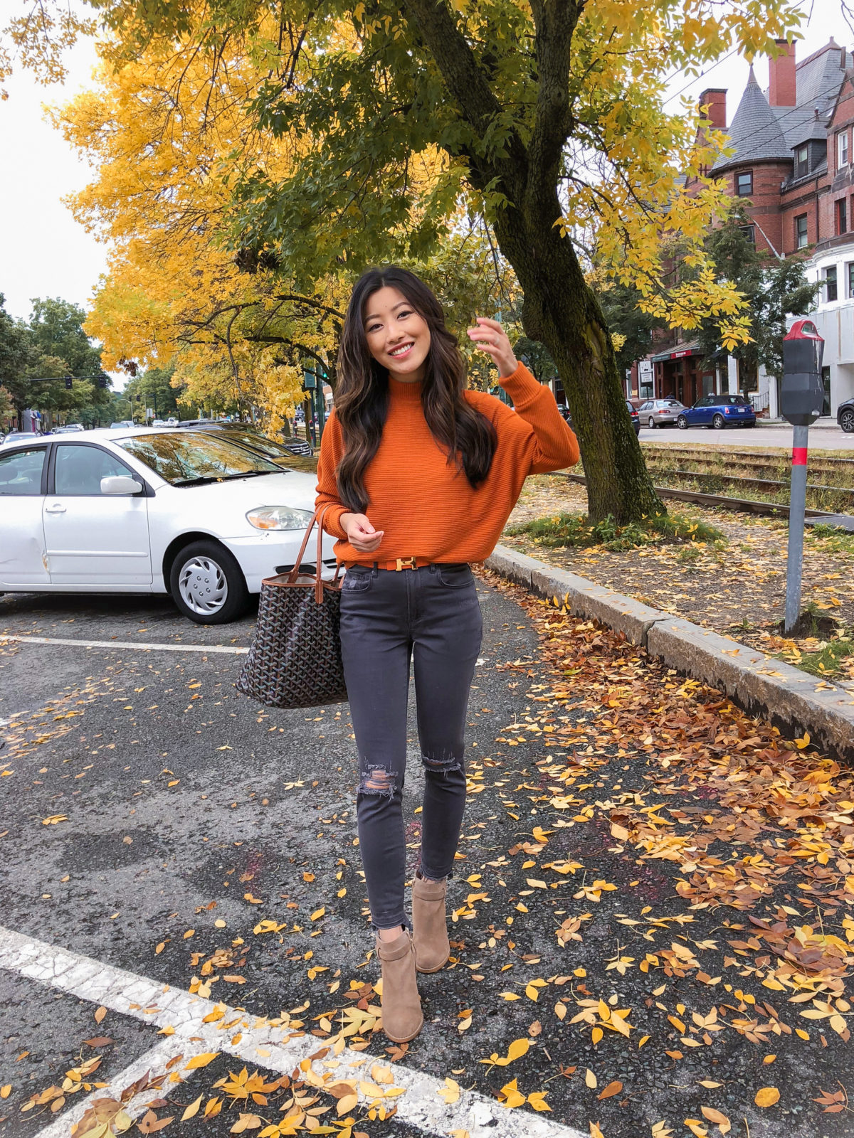 Dolman Sweater Boston Style Blogger