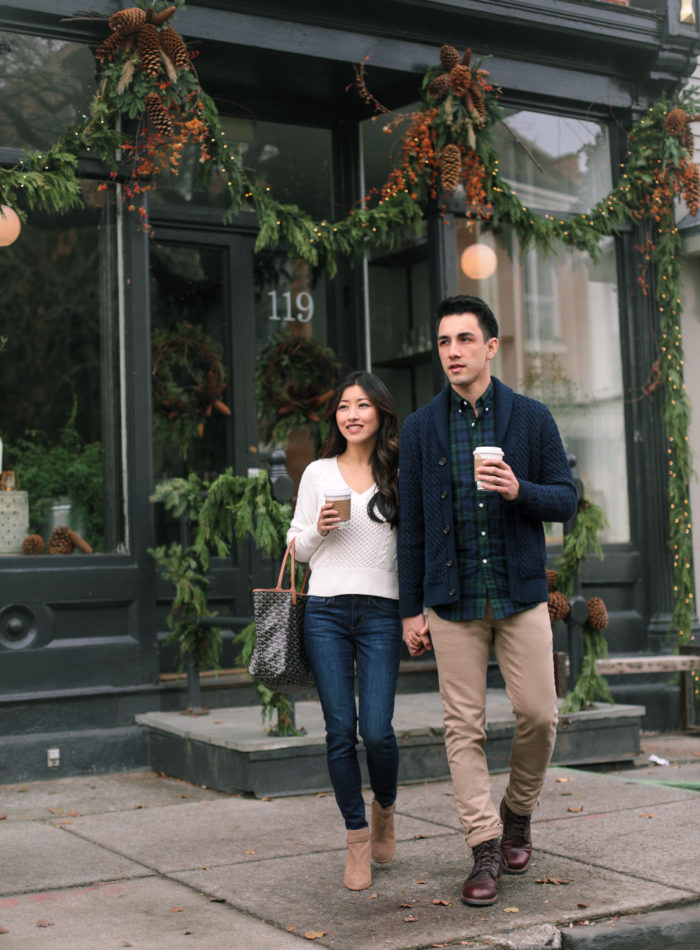 couple his and hers fashion banana republic