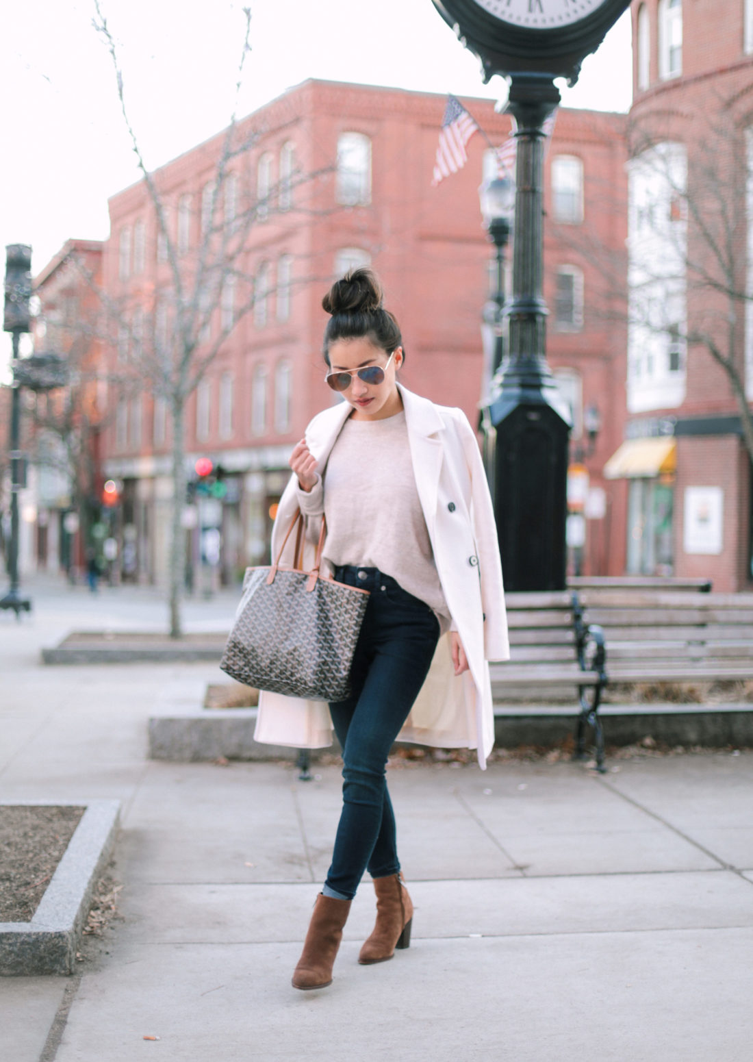 stylish casual winter outfit ideas brookline boston