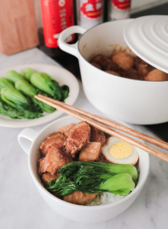 chinese lunar new year recipes pork belly rice