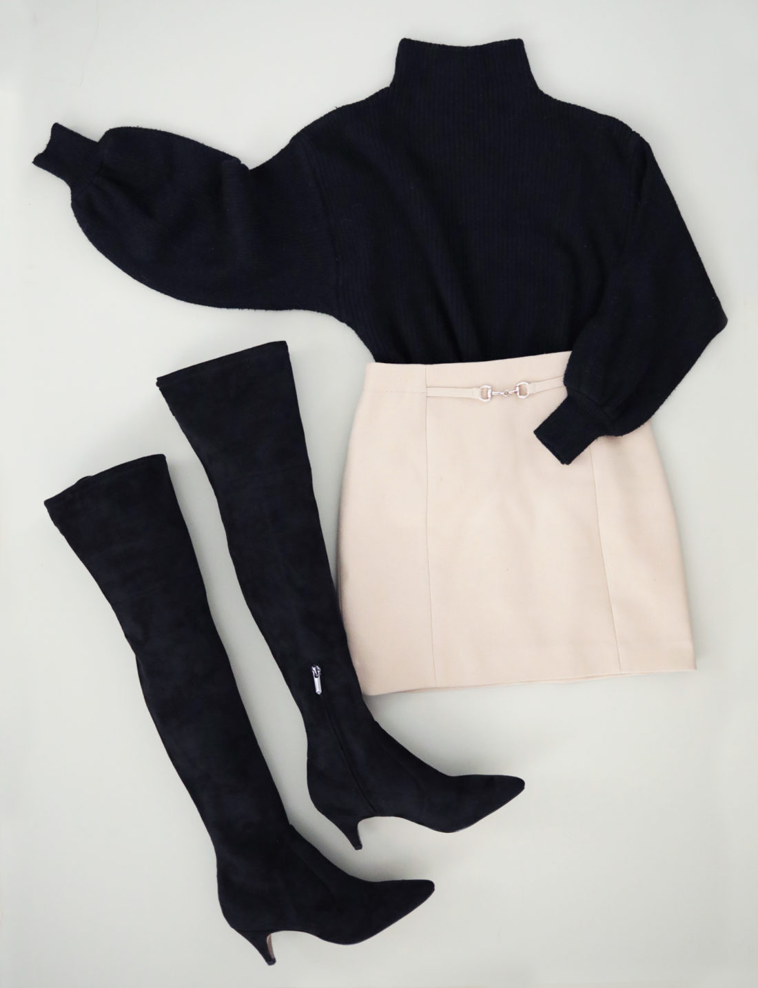 slim narrow calf over the knee boots