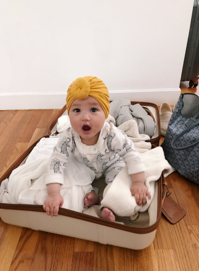 tips for flying traveling with a baby 9 months old