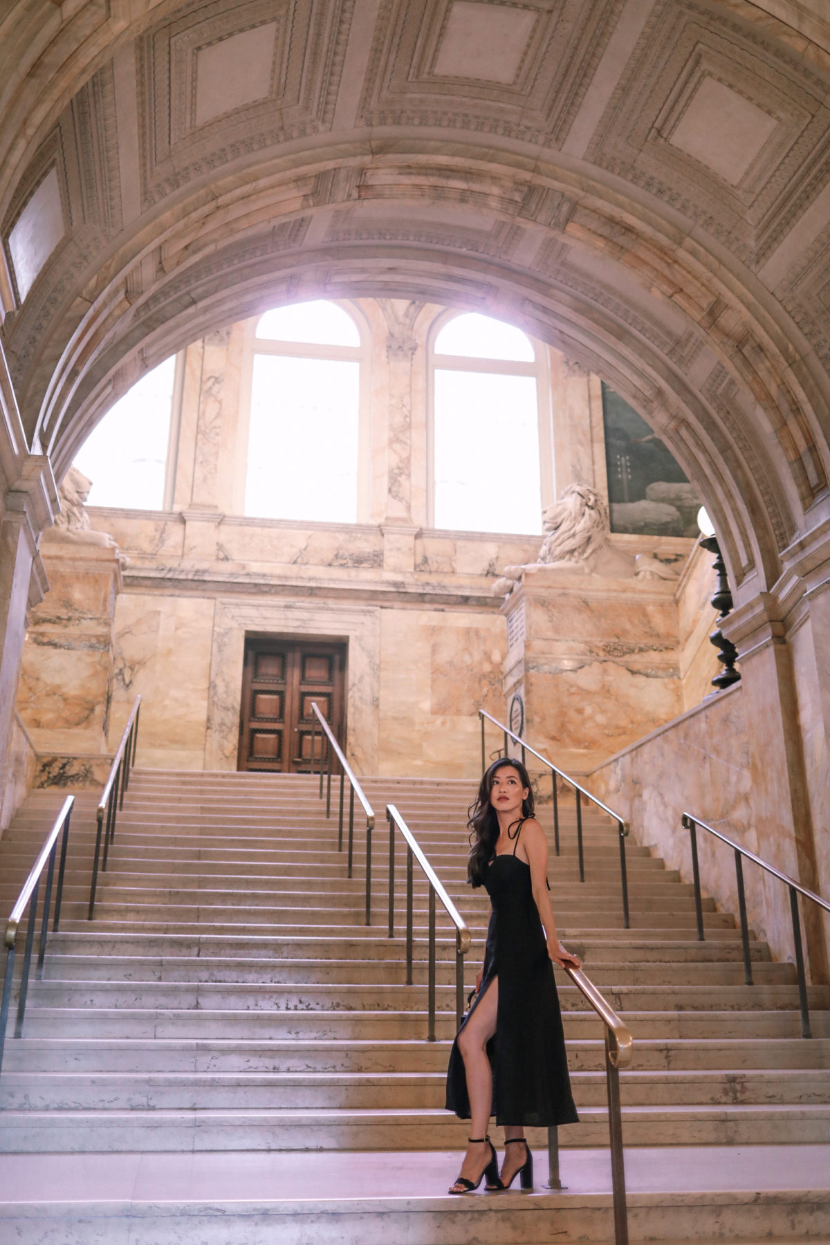 rerformation nebraska dress boston public library wedding