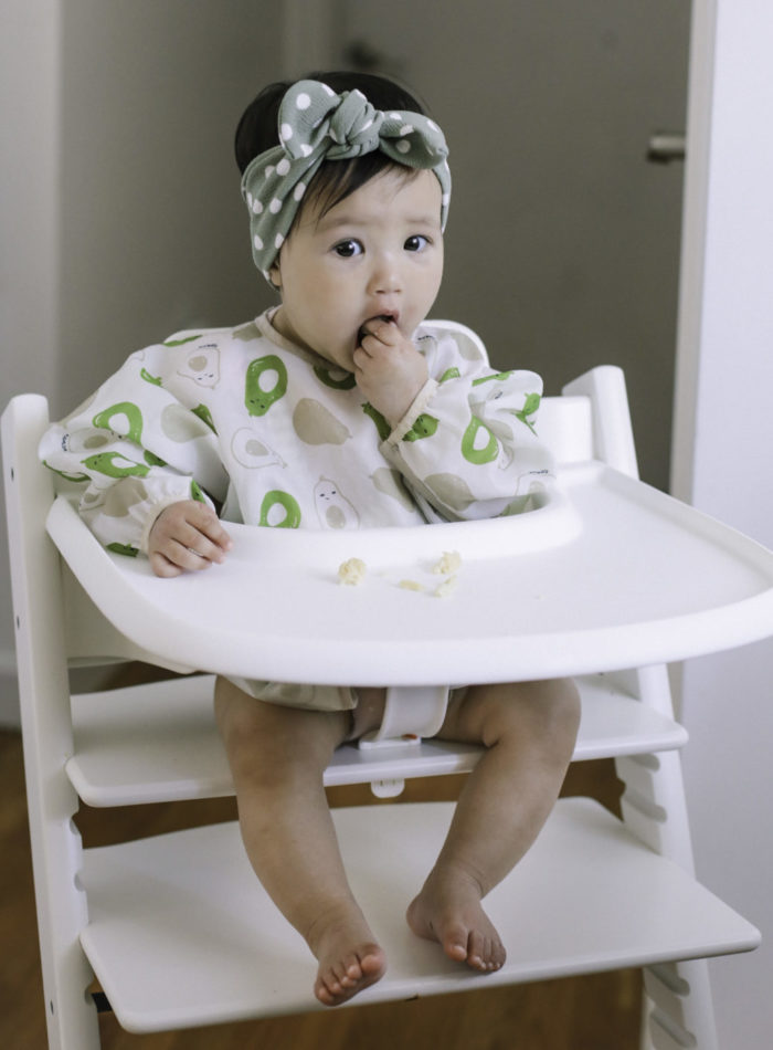 baby introducing solids stokke trip trapp high chair review