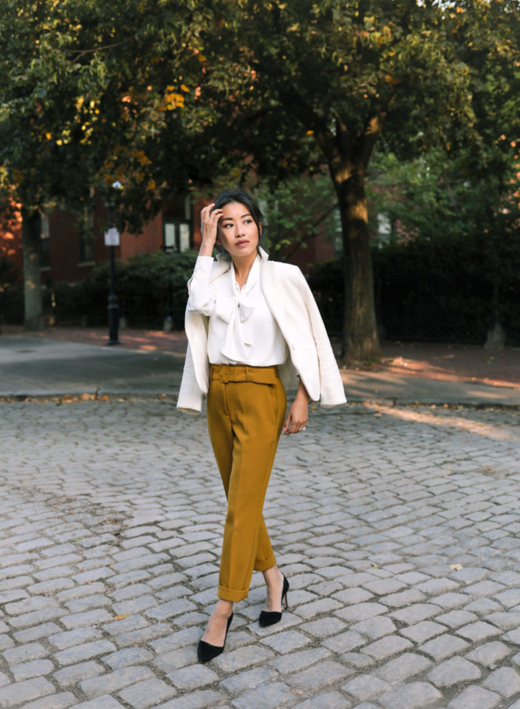 petite workwear fall office clothes