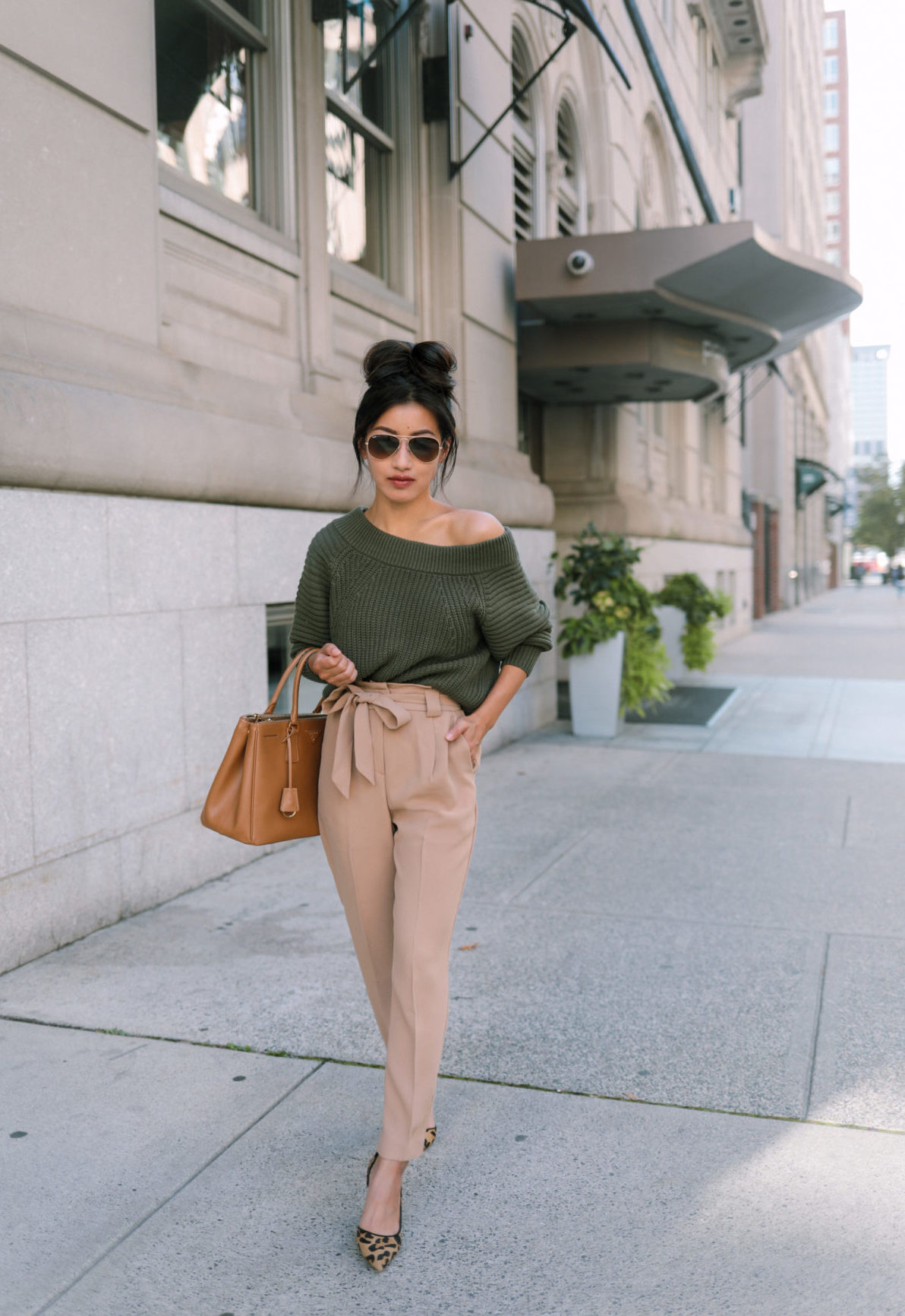 express petite tan pants for work
