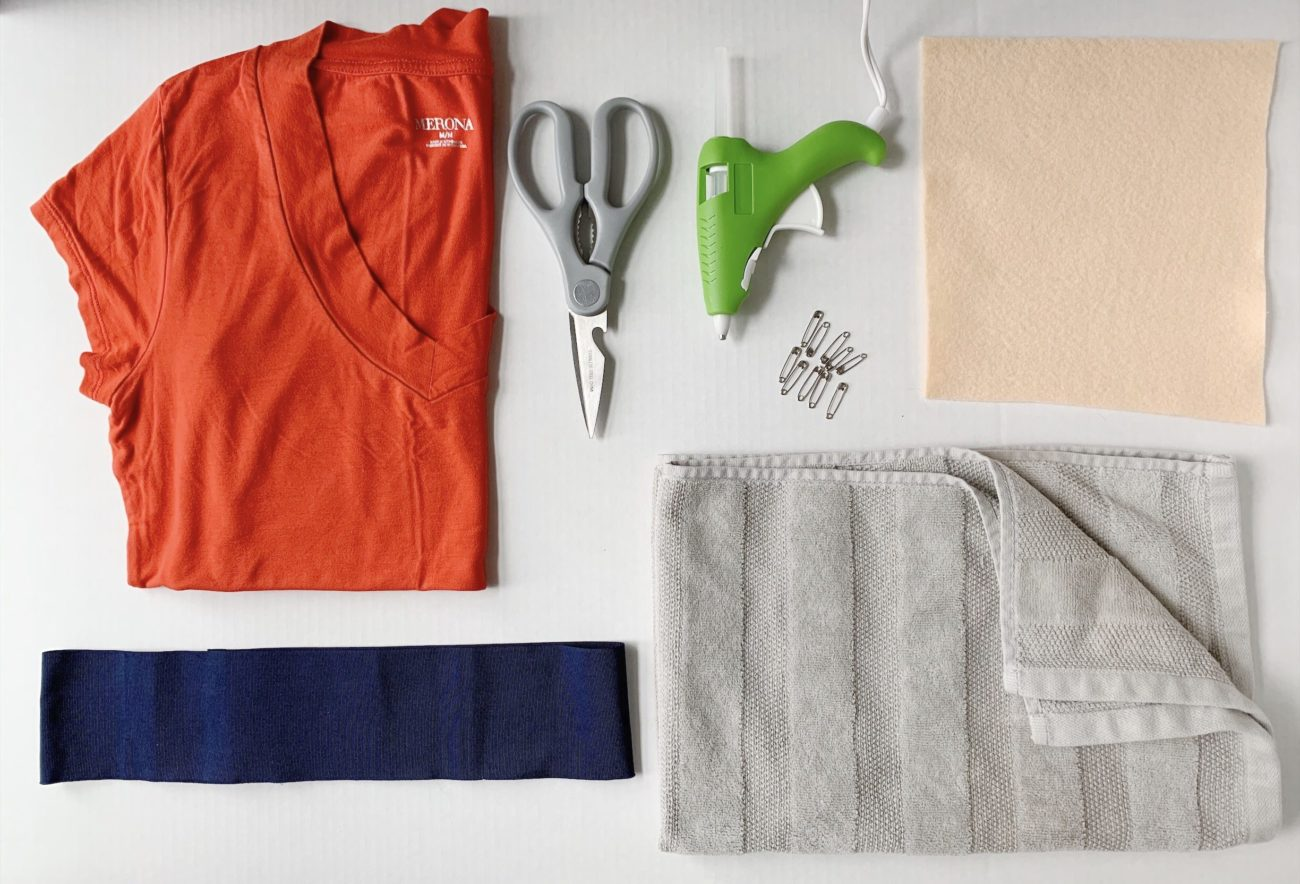 sushi nigiri halloween costume DIY tutorial 2019