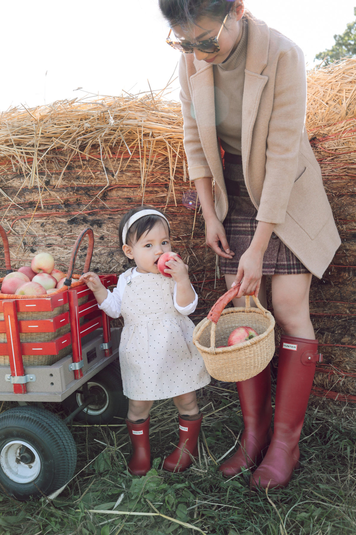 mother daughter baby girl matching outfits