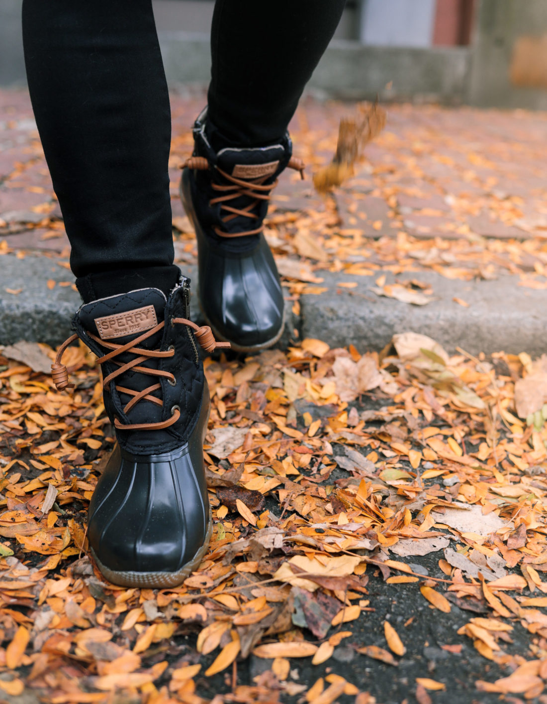 sperry saltwater duck fall winter boots