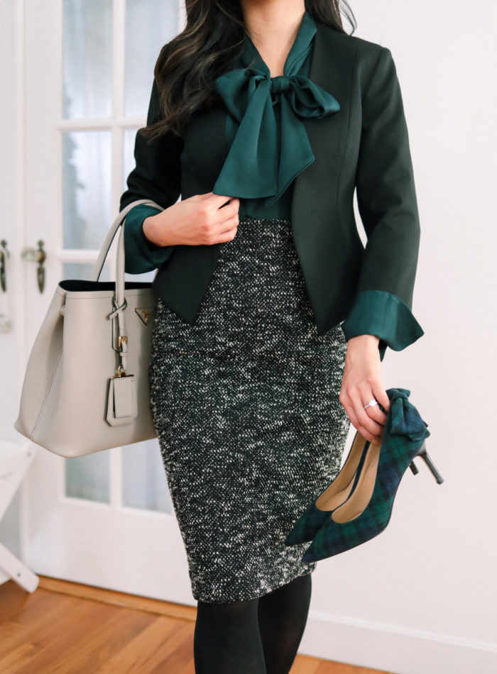 winter professional work outfit ideas with tights