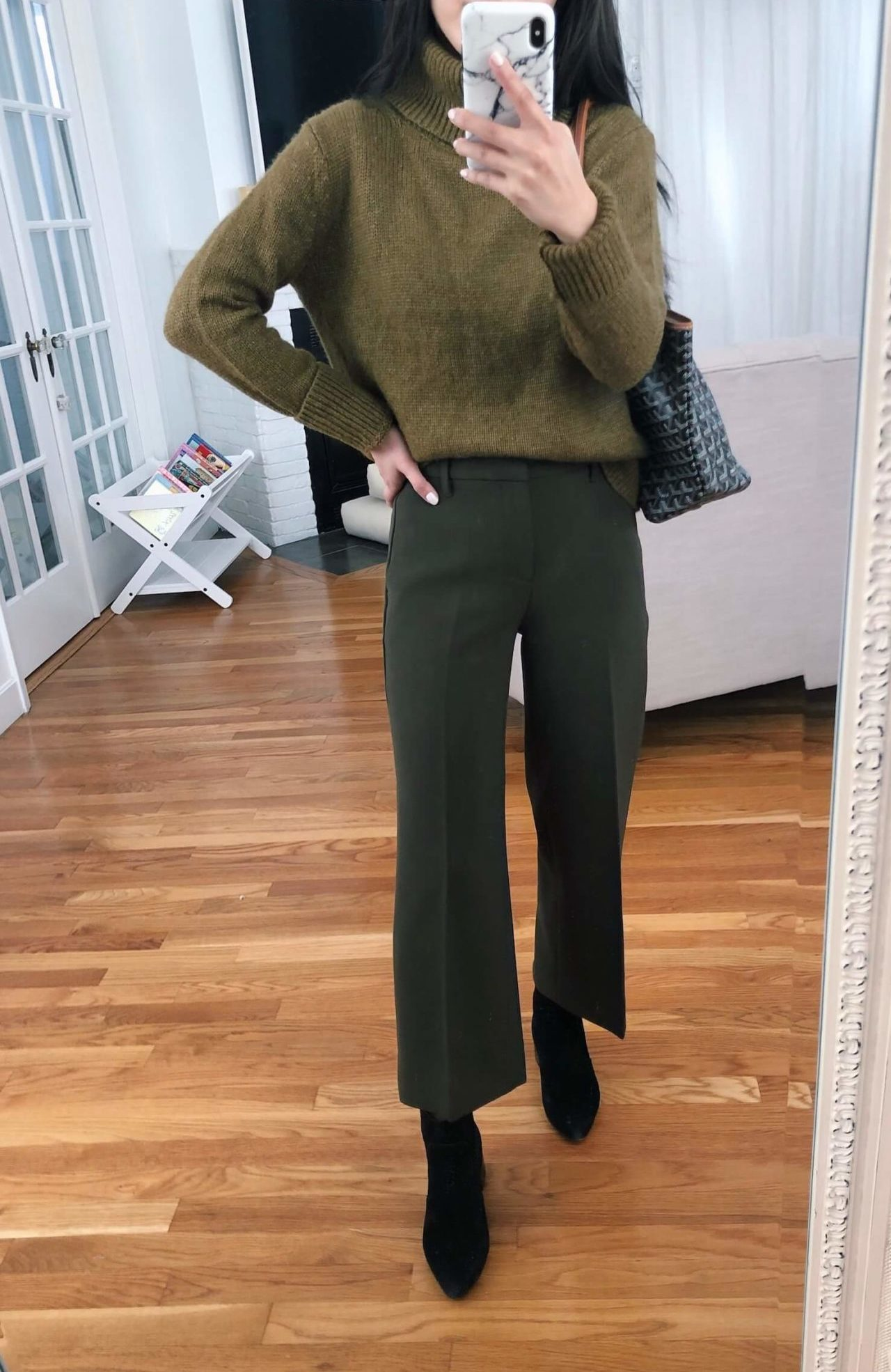 Banana Republic petite workwear try on