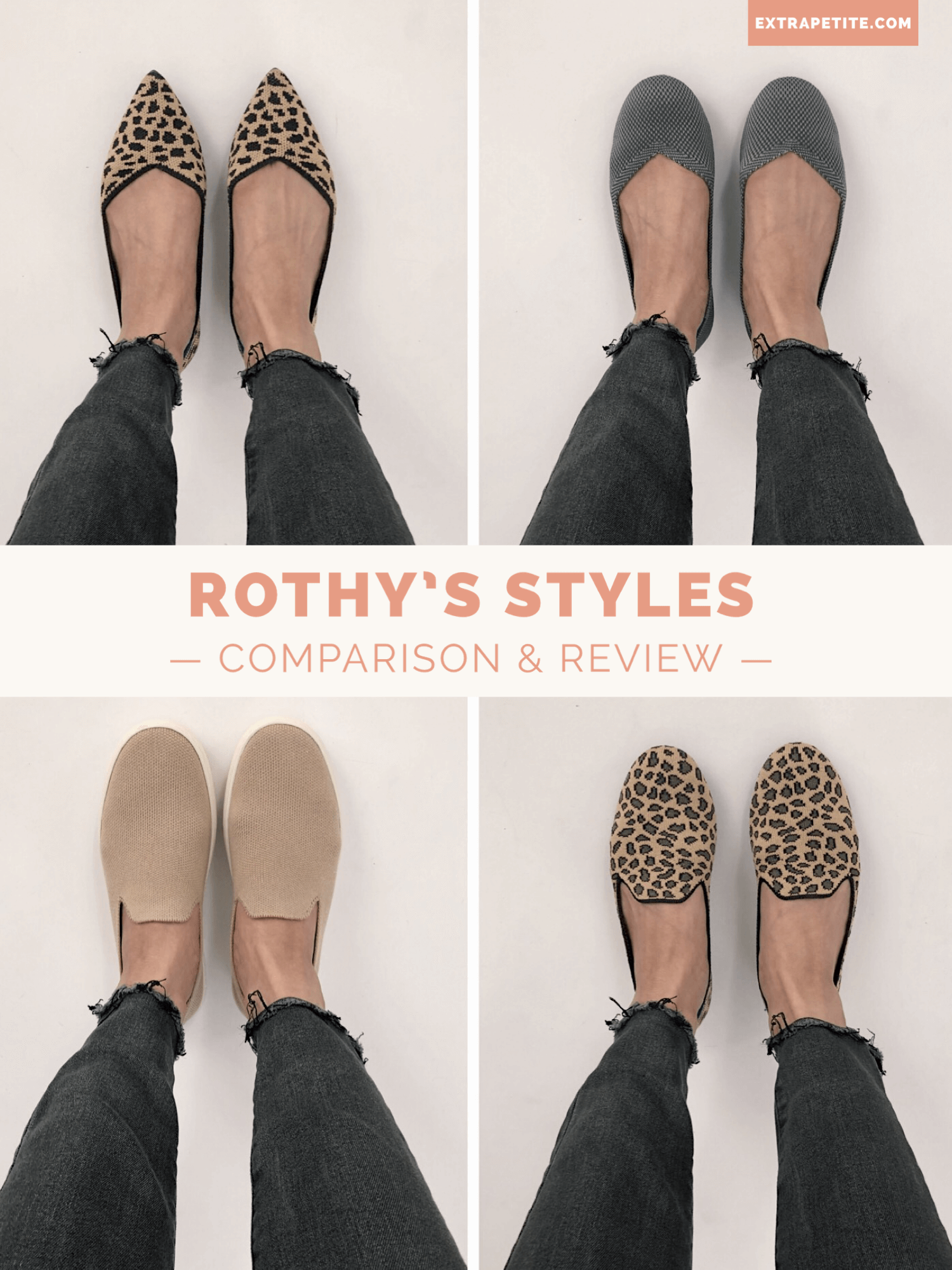 Rothy's styles reviews and comparison