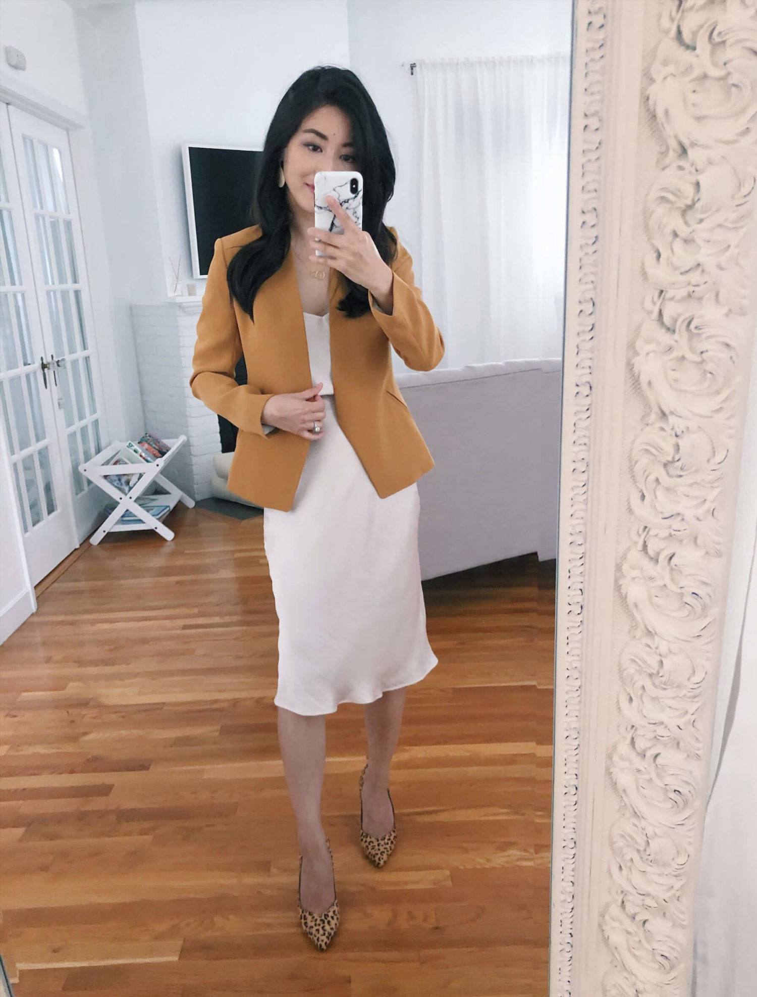 slip dress outfits and petite try on