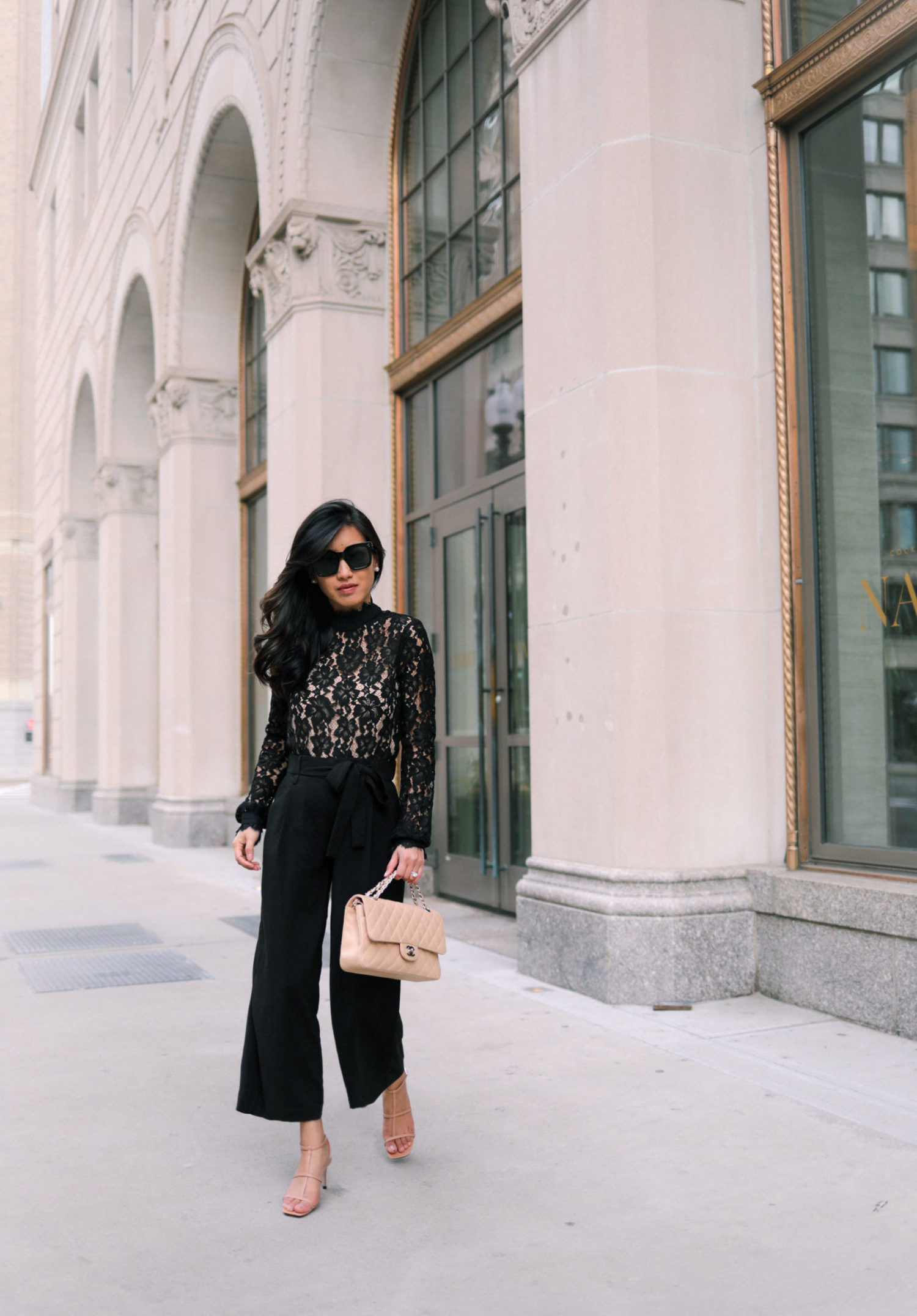 how to style culottes wide leg pants on petites