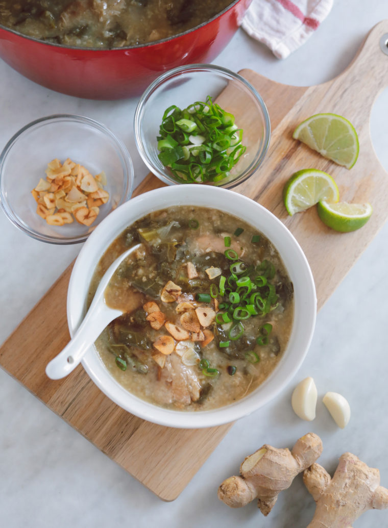 the best congee arroz caldo recipe chinese filipino food instant pot