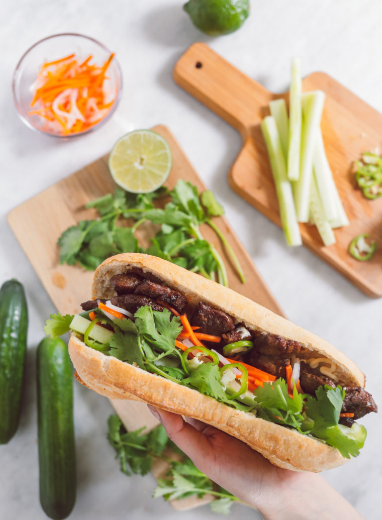 vietnamese grilled pork marinade for banh mi recipe