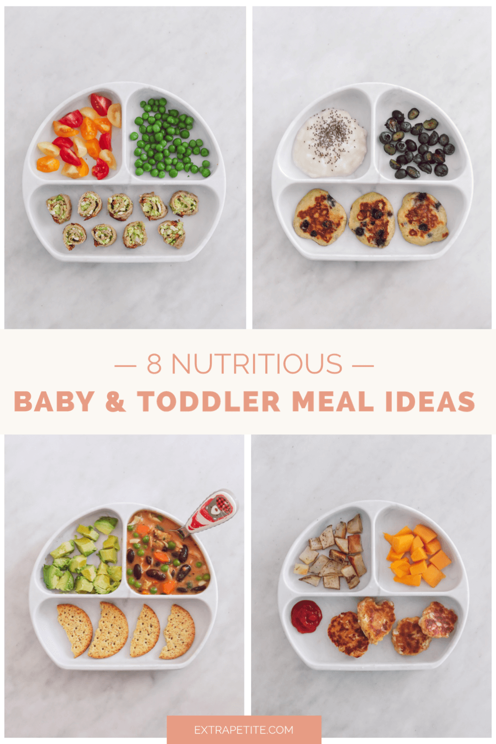 eight nutritious baby and toddler meal ideas