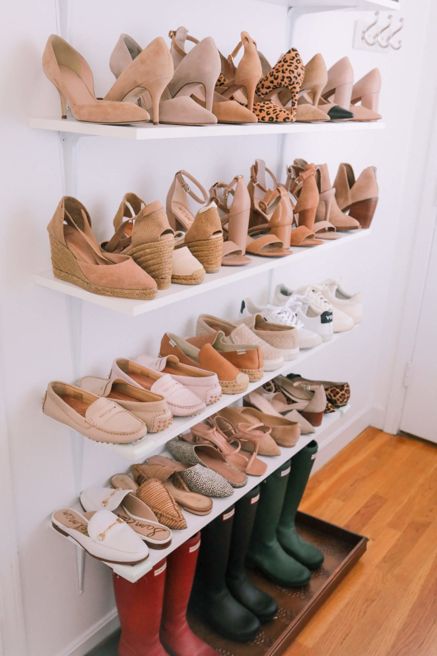 tips for organizing shoes