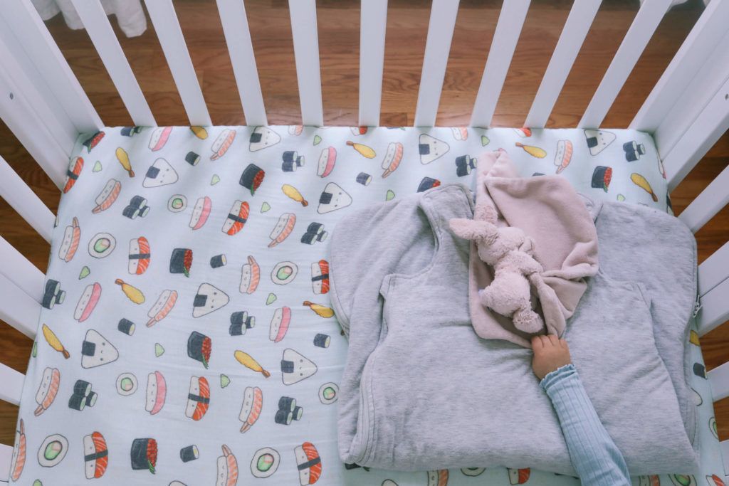 mini crib sushi sheets blanket